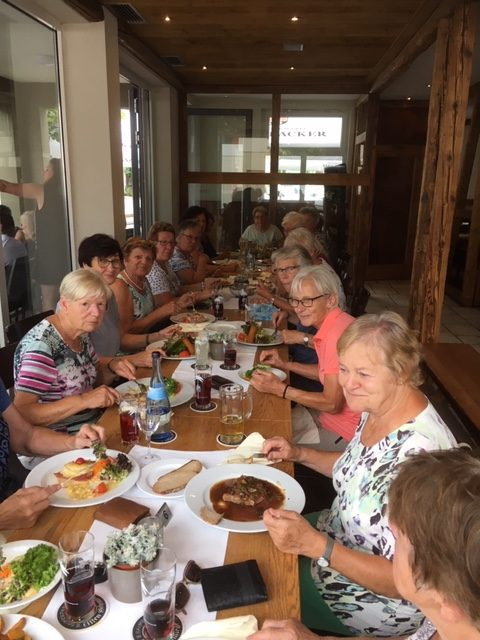 20190808 Wandern Vaihingen Alte Schmiede Gruppenbild