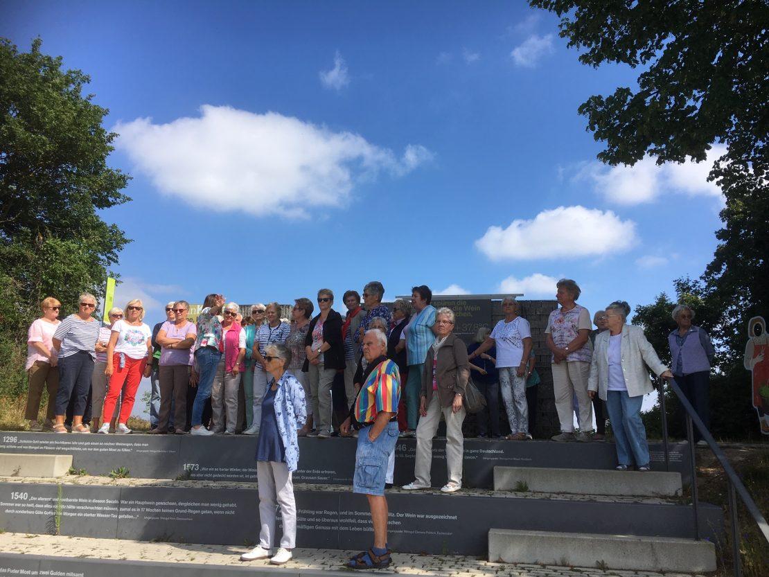 Ausflug Volkach am Main Gruppenbild