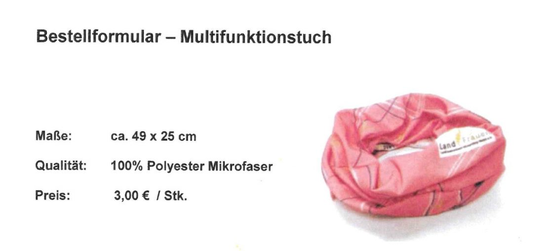 Multiftuch rosa