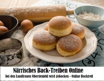 Närrisches Back-Treiben Online