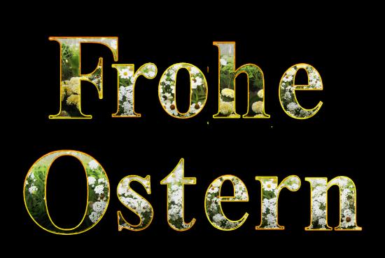 Ein lieber Ostergruß – Frohe und gesunde Osterfeiertage